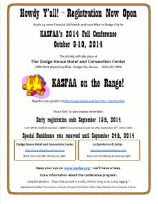 KASFAA Fall Training 2014