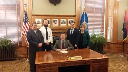 2015 PRoclamation Signing