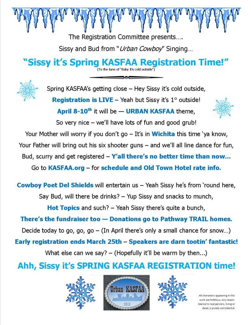 KASFAA Spring 2015