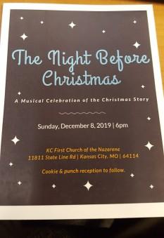 Christmas flyer - Keith