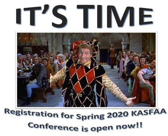 It's Time KASFAA Conference