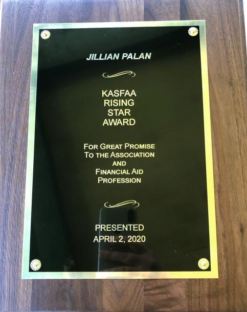 Rising Star Award - Jillian